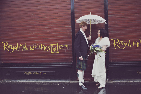 Edinburgh wedding photography (Anna + Iain)