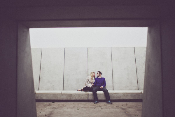 Yorkshire Sculpture Park engagement photography (Alice + David)