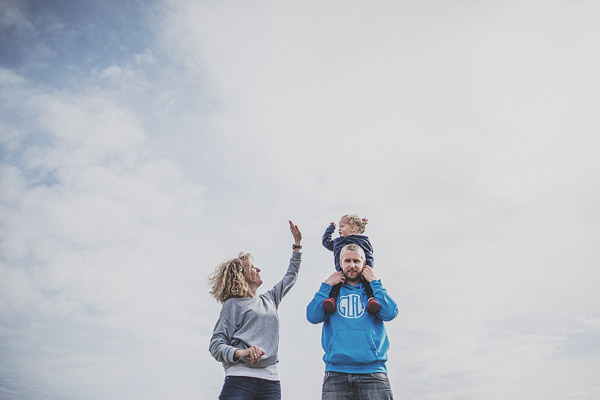 Anglesey family and kids portrait photography (Andy, Nic + Grace)