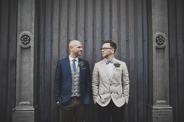 Manchester Town Hall wedding photography (Paul + Jonny)