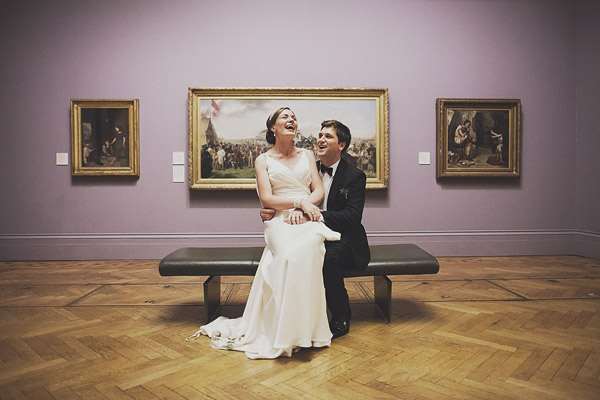 Manchester Art Gallery wedding photography (Jessica + Edd)