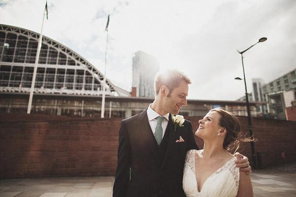 Manchester Town Hall wedding photography (Jen + Matt)