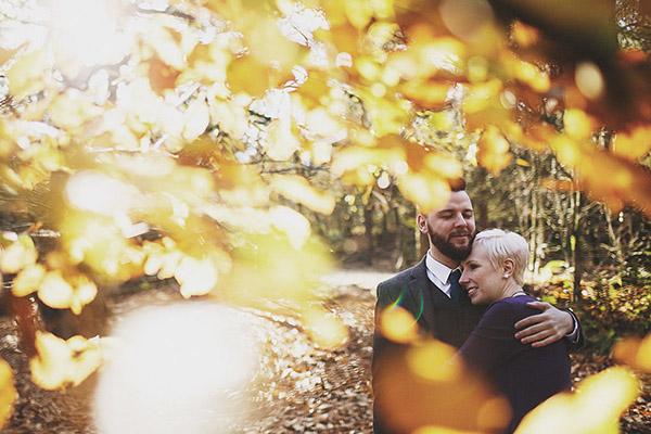 Alderley Edge Cheshire engagement shoot (Claire + Philip)
