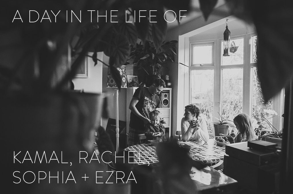 A Day In The Life Of… Kamal, Rachel, Sophia + Ezra