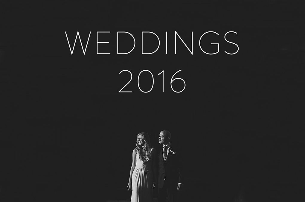 My 2016: weddings