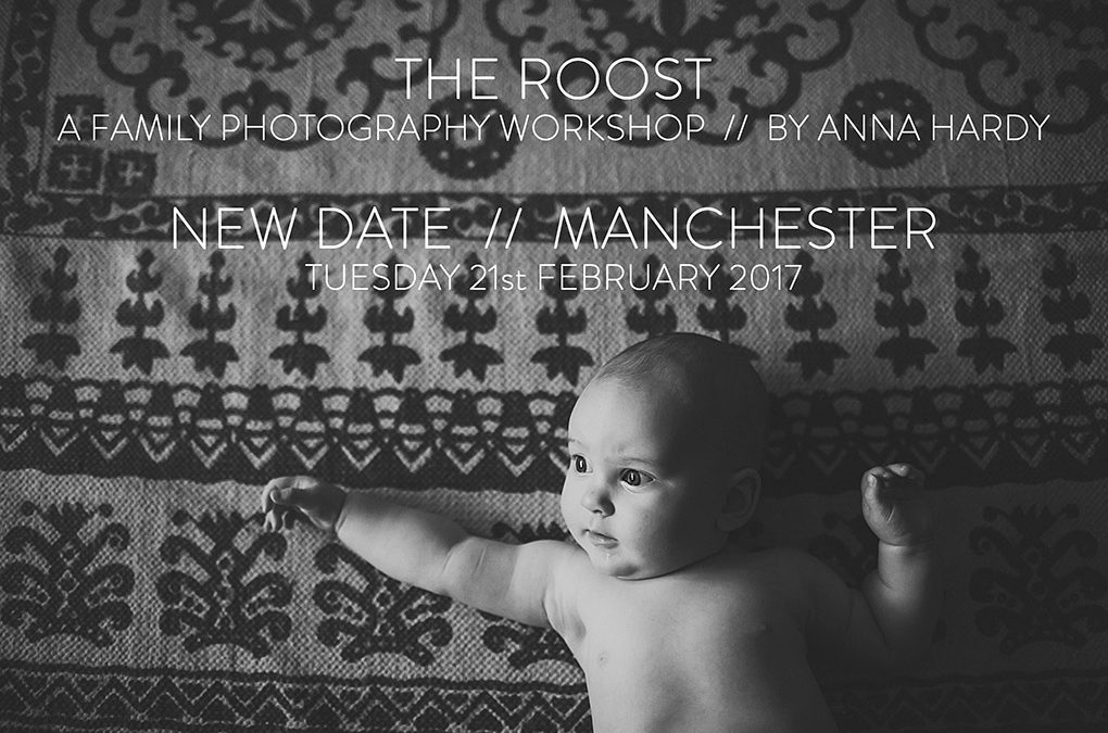 THE ROOST // Family photography workshop // new date!