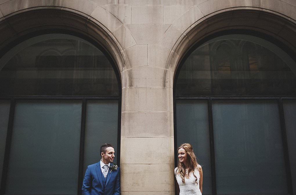 Manchester Town Hall wedding photography (Helen + Toby)
