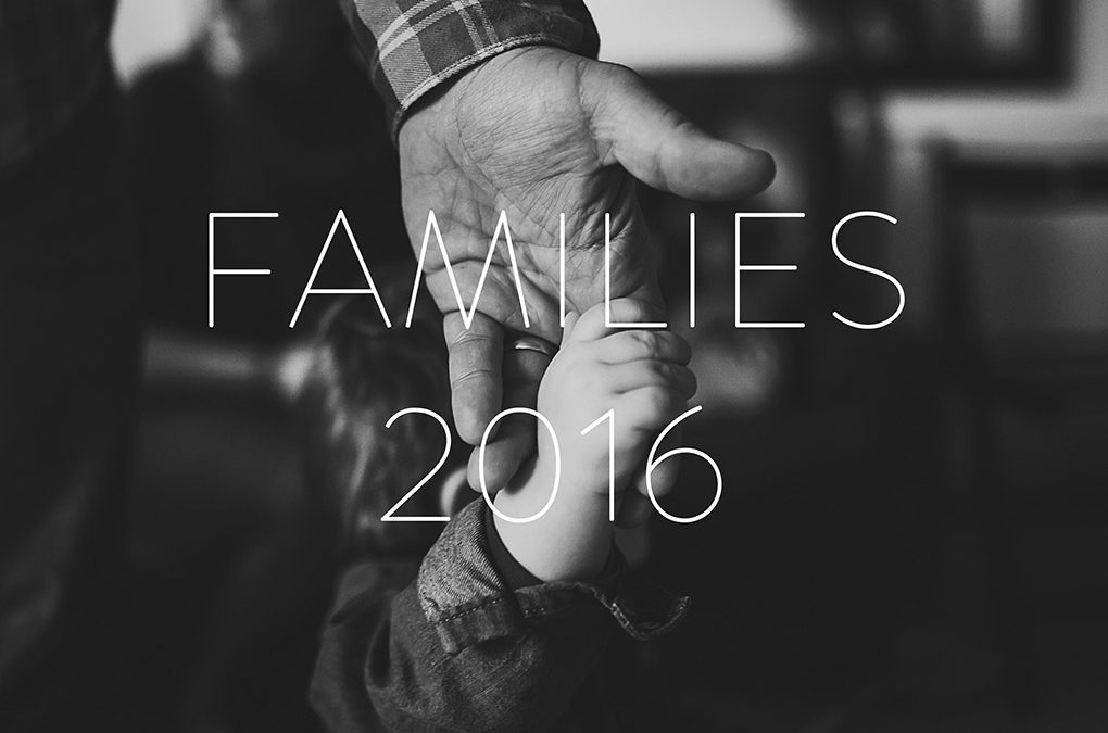 My 2016: families