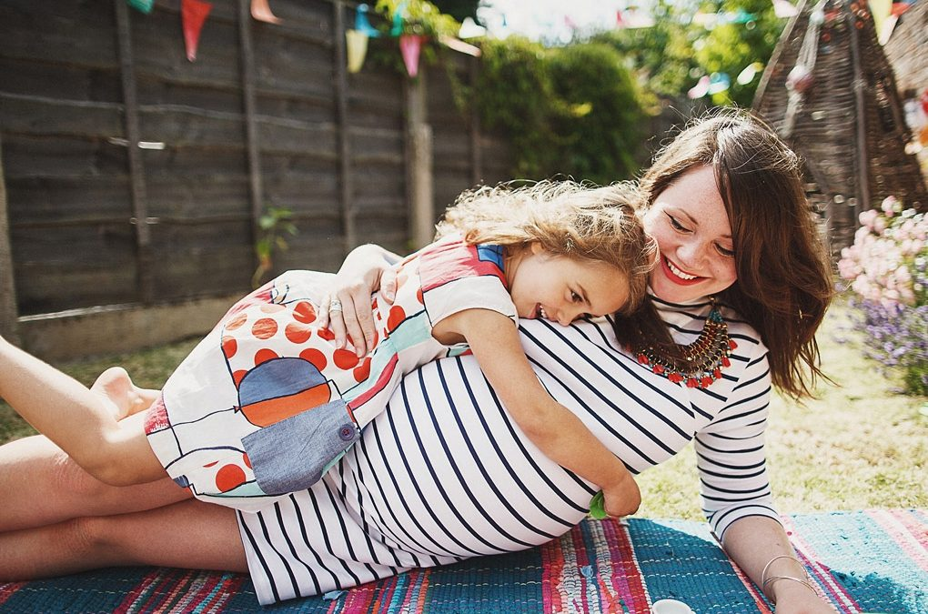 Maternity & family photography in Manchester (Caroline, Orla + the 'Bump')