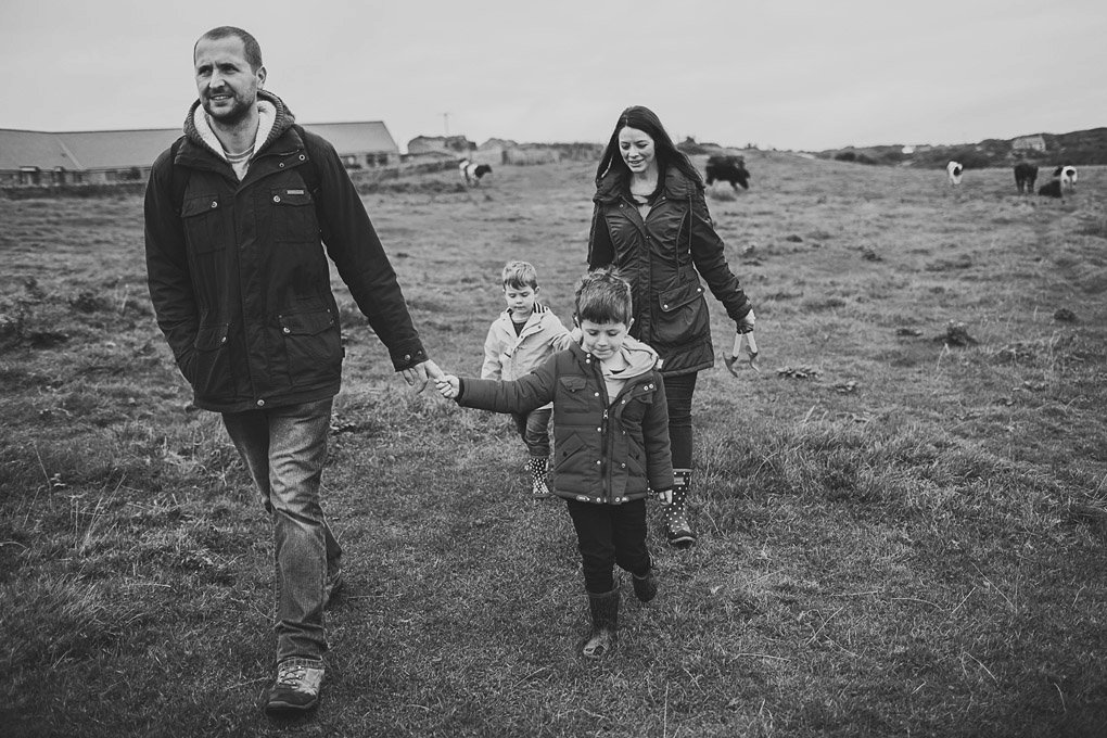 Anglesey family holiday photography