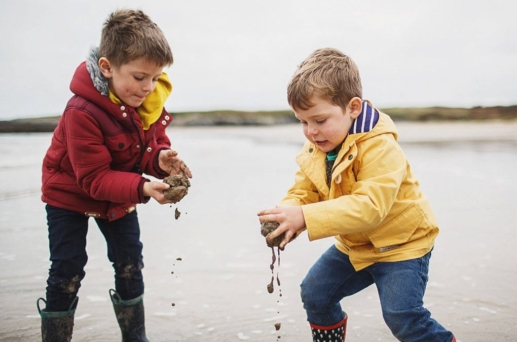Anglesey family holiday photography {Joe, Johanna, Evan + Dylan}