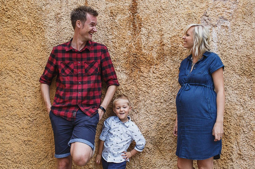 Cheshire family photographer {Laura, Greg, Harry + bump!}